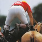 jockey changing horses mid race
