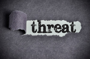 criminal harassment charges DV representented by the word threat